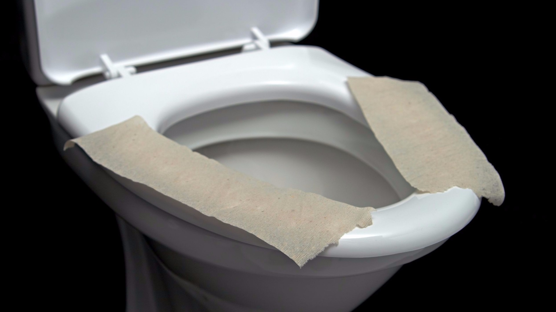 Putting Paper On Toilet Seat May Be Worse