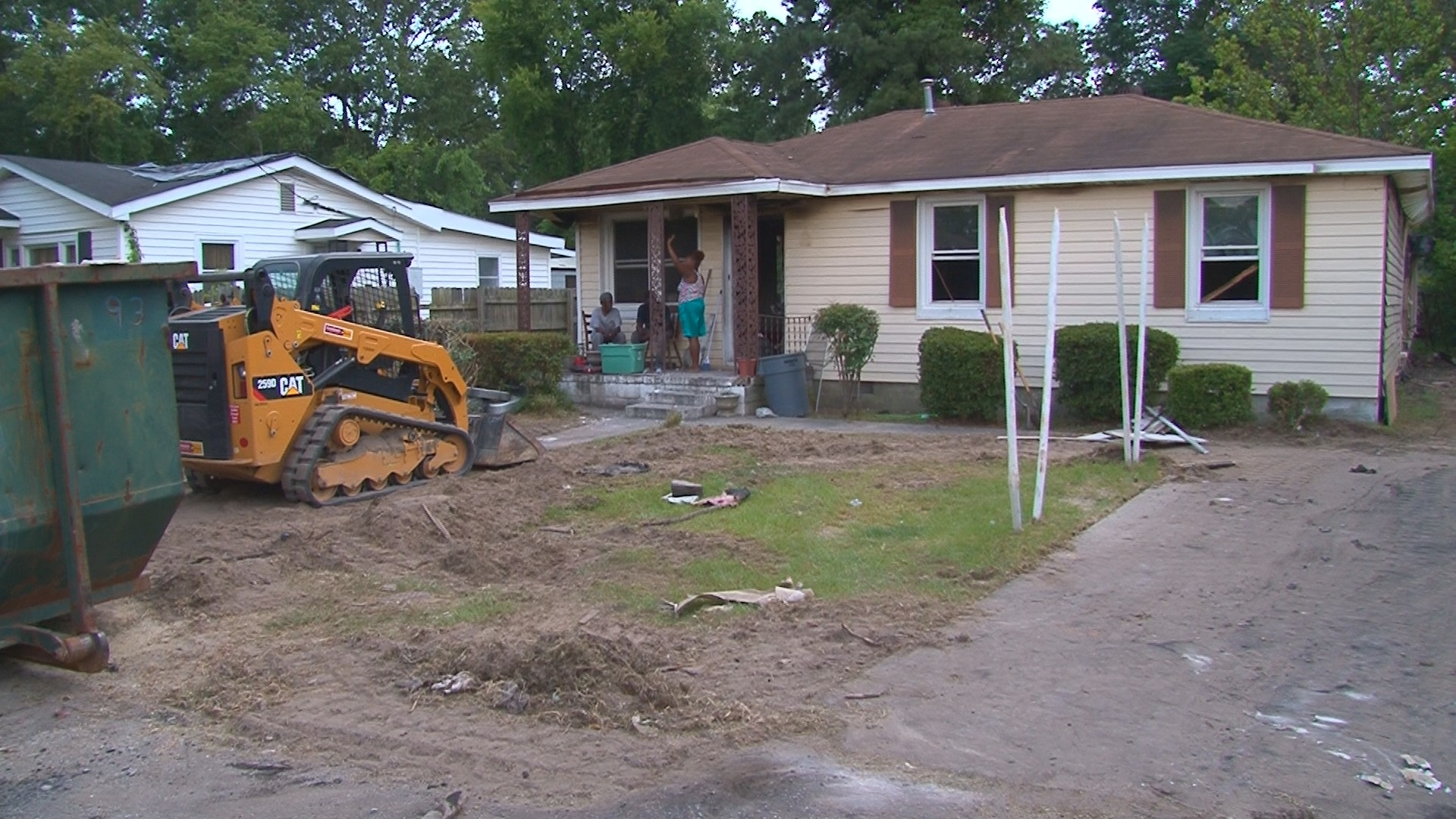 community helps 105 years old woman rebuild her home wltx com